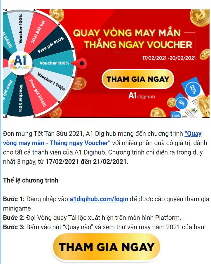 cách thiết kế email marketing đẹp